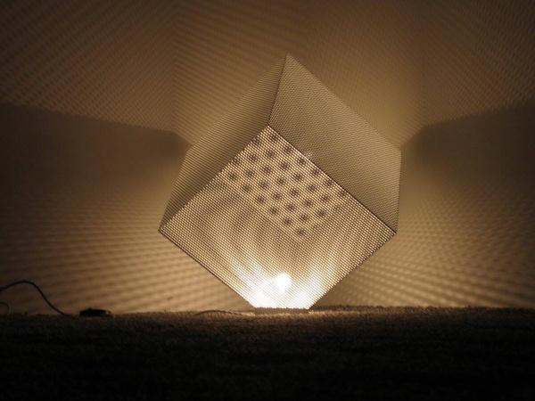 Lampada traforata in metallo linea ELISIR